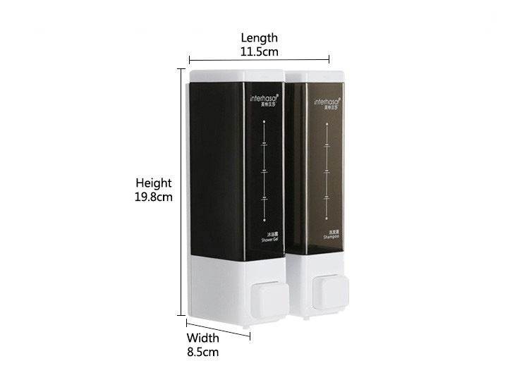 2019 High quality simple double wall mounted liquid auto toilet spray perfume medial aerosol dispenser