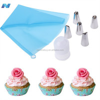 New Pastry Icing Piping Bag Nozzle Tip Chocolate Cake Sugar Craft Tool Decorating Pen