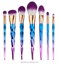 2017 Create your own brand makeup private label makeup tools wholesale makeup brushes free samples