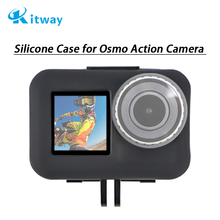 2019 DJI New Products Soft Silicone Case For Osmo Action And Lens Cap Cover For DJI Osmo Action Sport Camera Accessories