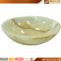 Best quality GREEN onyx luxury wash basins and sinks,wash basin countertop marble wash basin stone