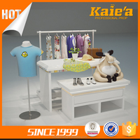 Wood baby clothes store interior design,clothes store design