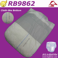 AAA Quality Competitive Price Disposable Rubber Adult Diaper Manufacturer from China