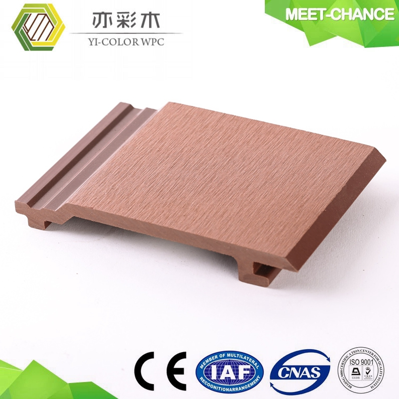 natural wooden like outdoor decorative wood plastic composite soundproof wall panels