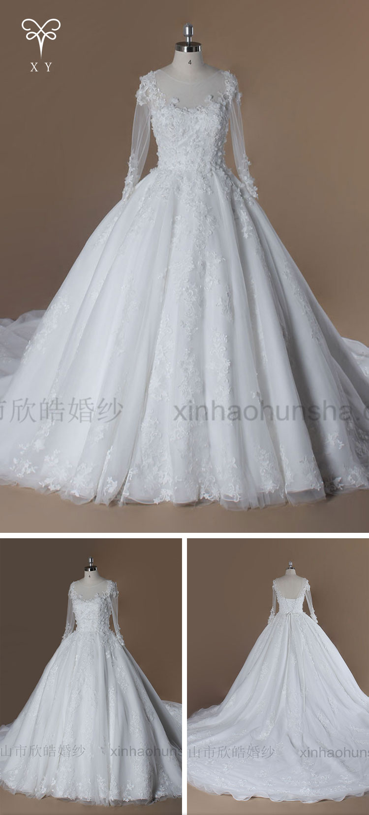 Good Price Latest Wedding Gown In 2016 Wedding Dress Patterns - Buy ...