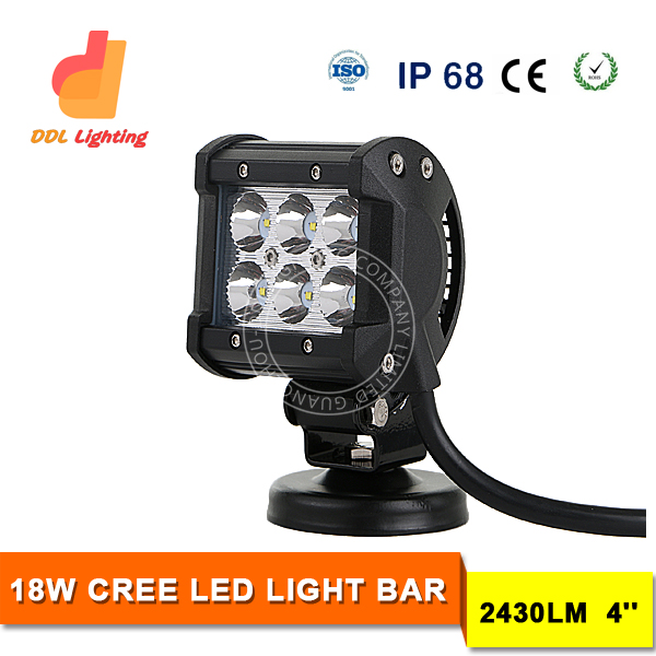 4inch 18W mini off road led light bar for c ree led light bars led light bar off road 4x4 4wd aurora for trucks