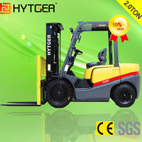 2 Ton Diesel Forklift Truck with Pneumatic Tire