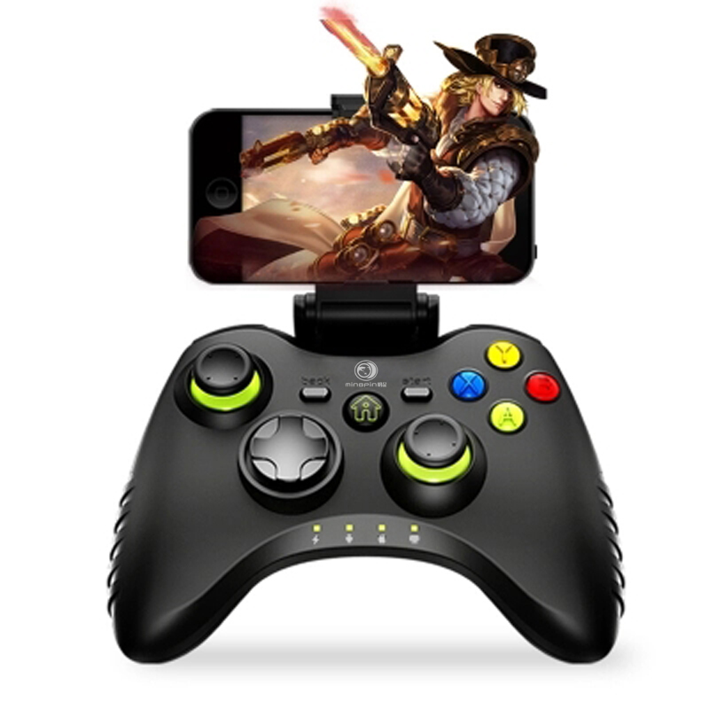 Factory price hot selling GamePad joystick Bluetooth Wireless game controller for android mobile phone / Tablets / PC / TV