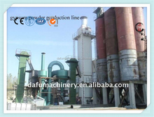 Alibaba golden supplier gypsum / plaster of Paris powder production line