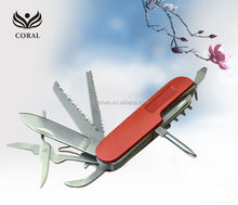 Multi function foldable pocket knife