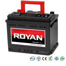 12V DIN60 60Ah Sealed Maintenance Free SMF MF Heavy Duty Automotive Battery Car Battery visca battery