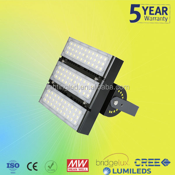 High power outdoor 90w 100w 150w 200w led tunnel light