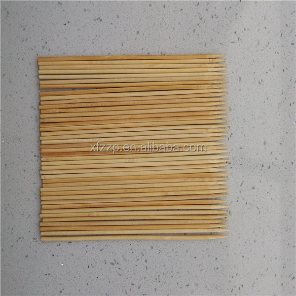 BBQ Dried Natural Disposable Round Bamboo Sticks For Sale