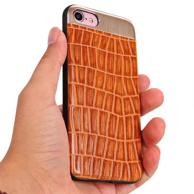 Fashion Crocodile Back Pattern Leather Phone Cases For iPhone Case Original Leather Cover