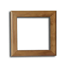ceramic tile with wooden frame