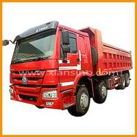 2014 heavy duty off road truck howo 8X4 dump truck
