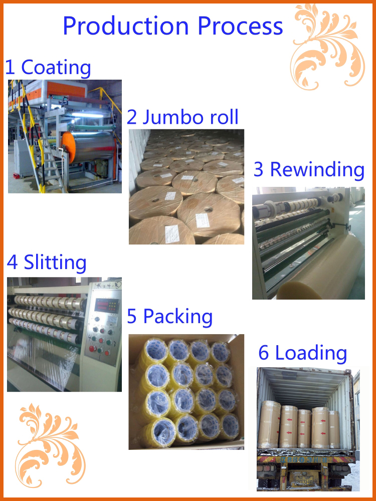 Hot Sale Bopp Package Tape Use For Carton Sealing