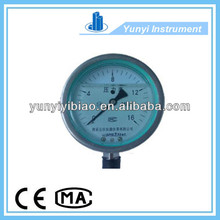 Cheap Stainless Steel Vibration-proof Pressure gauge