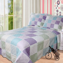 Cotton Patch Work Bed Sheets YF-012purple