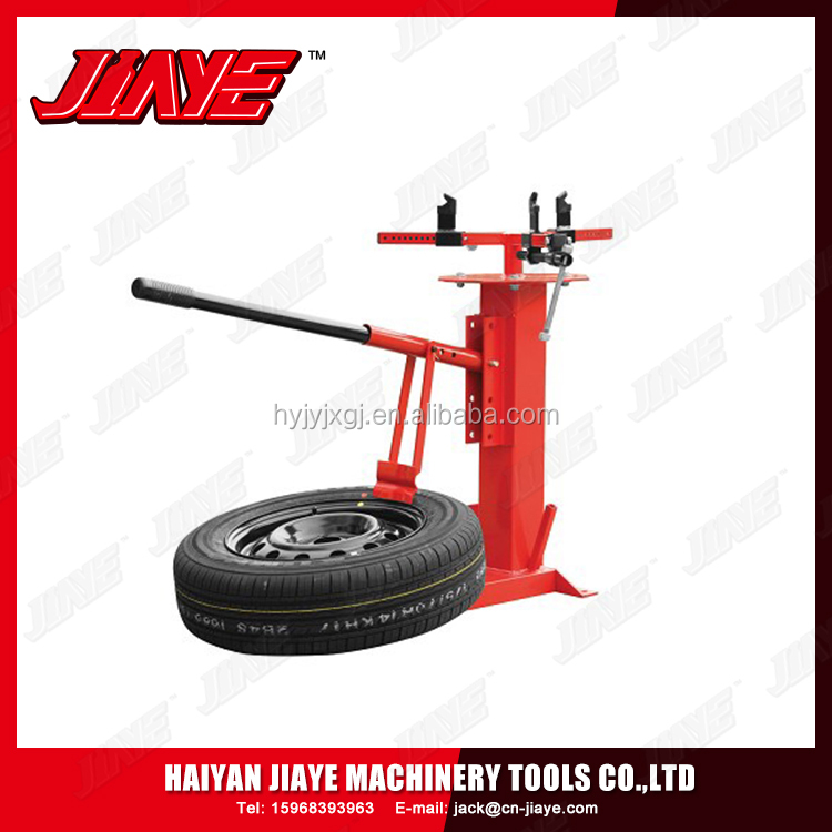 Multi-function demolition tire changer