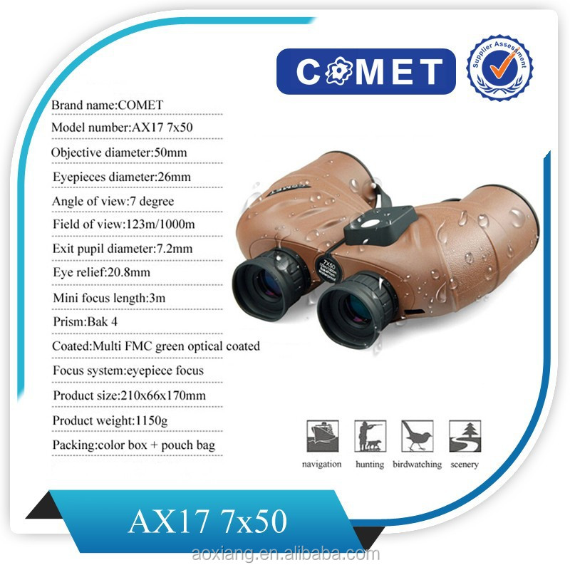 2015 hot sale telescope binoculars with scales &compass