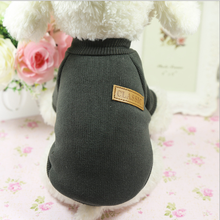 SPWE-510 Cutely Pure Color Fashion Pet Dog Knitted Sweater