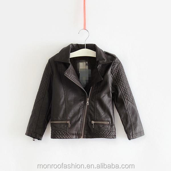 monroo wholesale boys high quality biker jackets faux short jackets