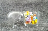Different Glass Shapes / Egg Shape Glass Jar / Mini Glass Jar