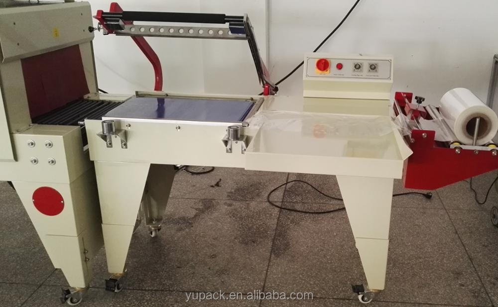 Shrink wrapping L-bar sealer semi automatic with CE