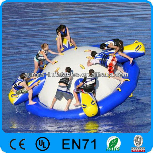 aqua glide inflatable UFO water park