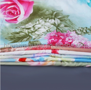 plant cashmere fabric twill fabric ready good reactive printed rayon bedsheet fabric