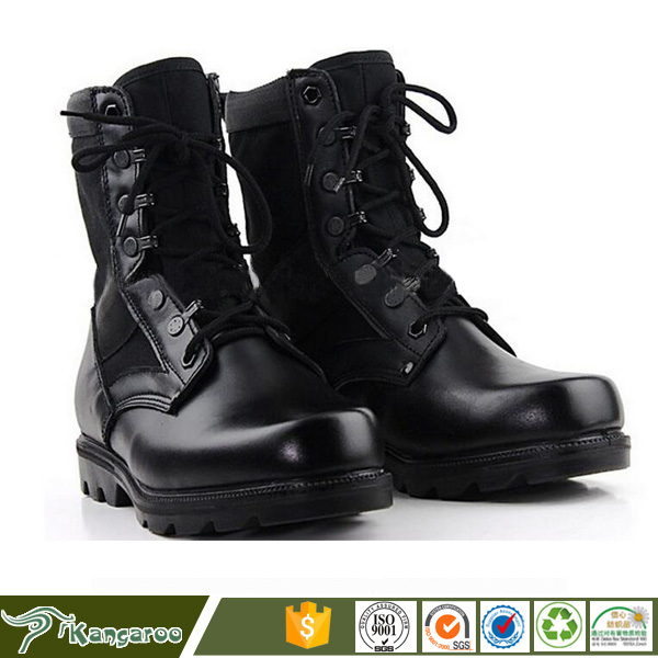 Fashionable genuine leather USA Army Tactical Military boots Desert Safety Boots