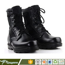 Fashionable genuine leather USA Army Tactical Military Jungle Safety Boots