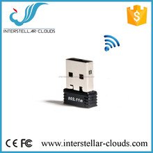 802.11n 150Mbps Wifi Dongle Wireless USB LAN High Power 802.11b/g Usb Wireless Adapter