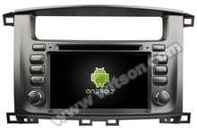 WITSON Android 4.4 FOR TOYOTA LAND CRUISER 100 DASH BOARD CAR DVD HD 3G Wifi Multi-touch 3D UI