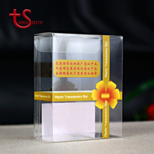 Custom YIWU product PVC transparent packaging box