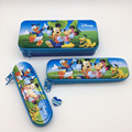 Lovely Children Cartoon Pencil Tin Box 3 in 1 Set