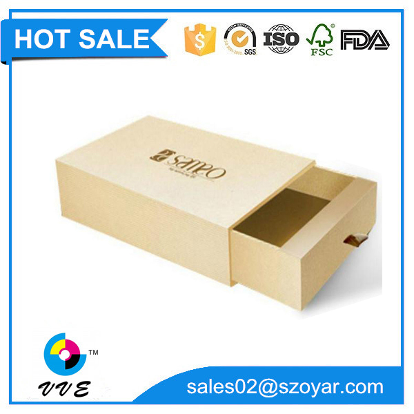 Wholesale supplies high quality paper gift box packaging