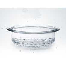Heat resistant high borosilicate glass steamer used for kitchen
