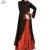 black with red butterfly abaya muslim dress turkey kaftan wholesale in india