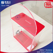 Wholesale acrylic donation collection boxes for charity