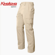 six pockets mens cargo casual fancy dress pants