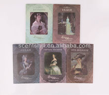 UK potpourri customized oem Jasmine/lavender/rose/ strawberry scented perfume sachets