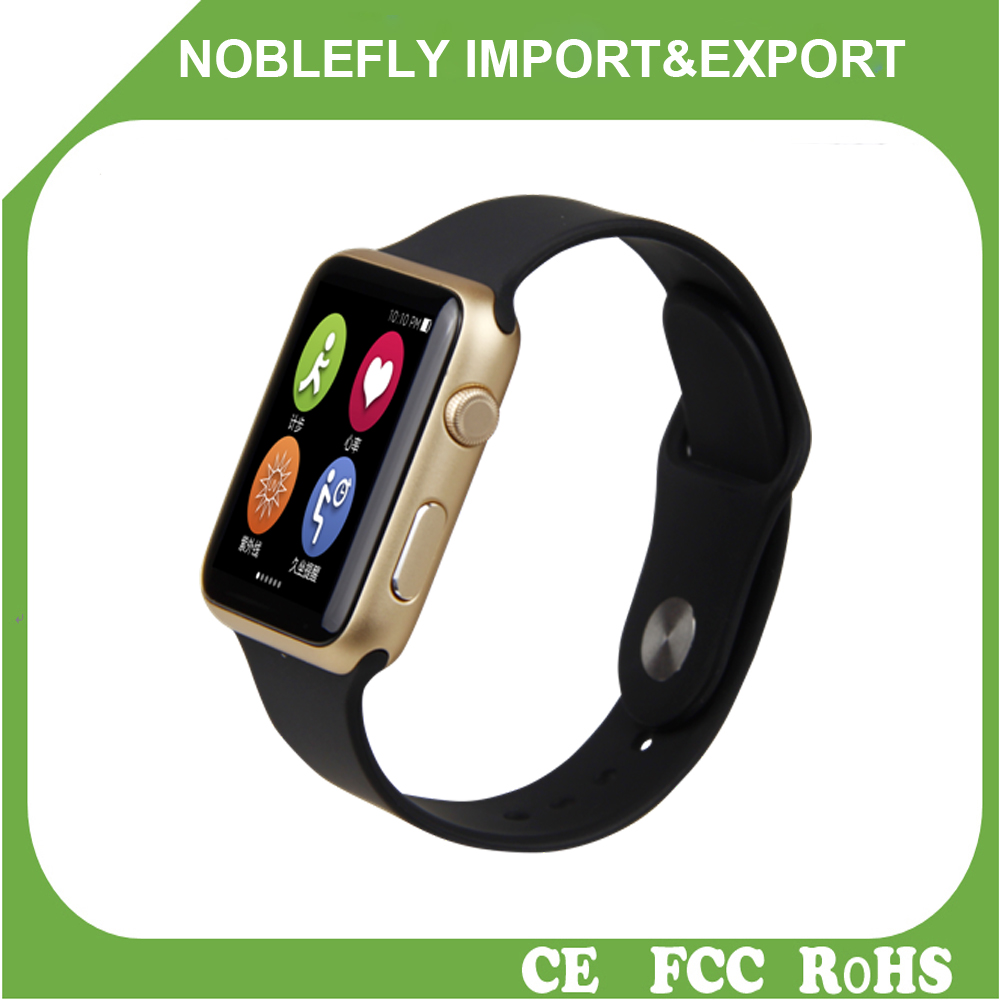 Wholesale android heart rate monitor smart watch mobile phone for Iphone watch