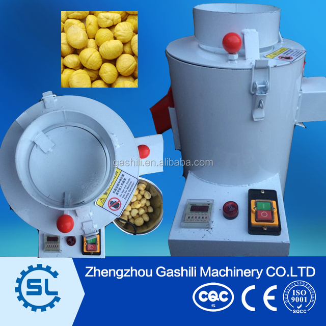 Small widely used chestnut skin peeling machine