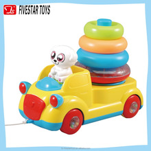 Kids cartoon truck toys fun baby play sets