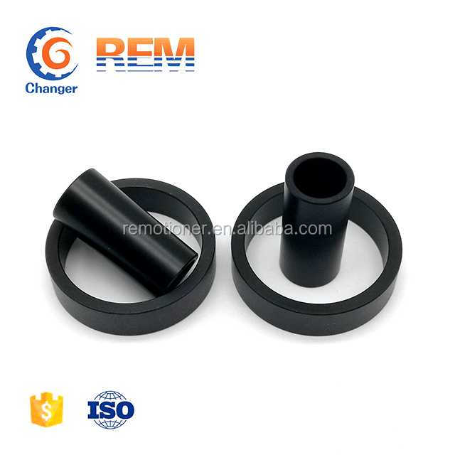 flanged plastic bushing as per your drawing PA66 POM PTFE ABS