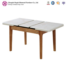Nordic furniture folding dinning table modern dining extension table