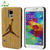 mobile phone bags for Samsung S5 bamboo shell wood