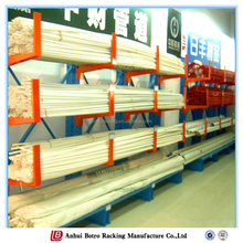 China adjustable Q235 power coating ISO9001 multi-layer metal cantilever racking